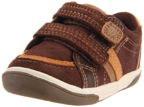 Stride Rite Jalen Sneaker (Toddler),Espresso,6 M Us Toddler front-631621