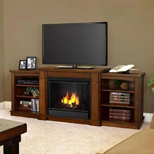 Real Flame Hawthorne Gel Fireplace - Burnished Oak