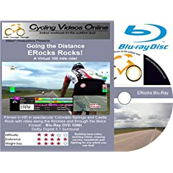 ERock Rocks! Blu-Ray Edition. A Virtual 100 Mile Ride. Indoor Cycling Training / Spinning Fitness and Workout Videos