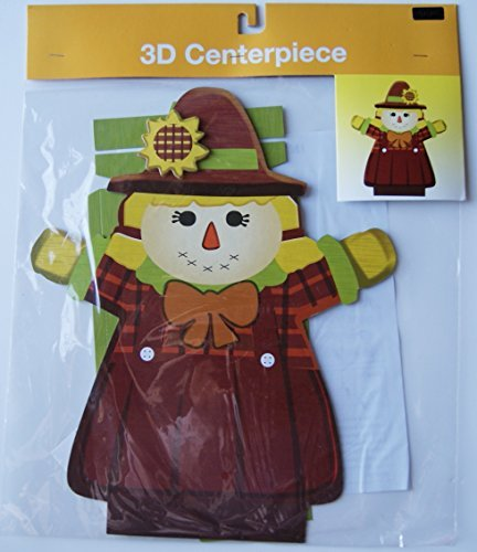 Fall Autumn Kids Party Thanksgiving 3D Scarecrow Centerpiece - 1