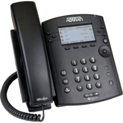 Polycom 2200-46135-025 VVX 300 IP Business PoE Telephone