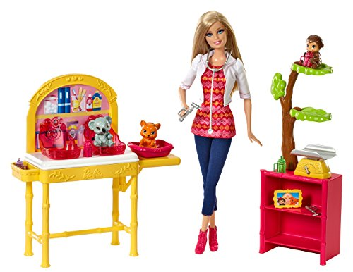 Barbie Careers Zookeeper Doll Playset