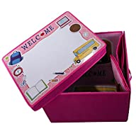 Kitchen Storage Box for Girl or Boy Playroom with 3D Adventure Ship Puzzle Bonus, Kitchen Container…