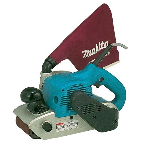 Why Choose The Makita 9403 11 Amp 4-Inch-by-24-Inch Belt Sander with Cloth Dust Bag