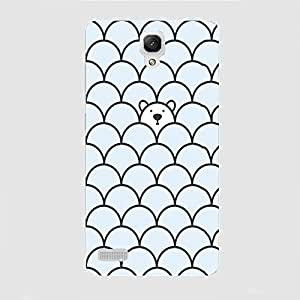Back cover for Redmi Note Prime Teddy Bear