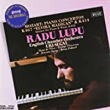 Mozart Piano Concertos Nos.12 & 21 etc (DECCA The Originals) Radu Lupu English Chamber Orchestra Uri Segal