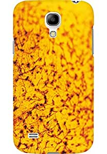 AMEZ designer printed 3d premium high quality back case cover for Samsung Galaxy S4 Mini (golden)