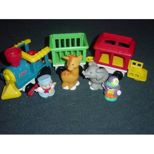 Amazon.com: fisher price little people circus train vintage