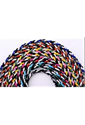 """Package of 12 Assorted 18"""" Tornado Titanium Necklaces"""