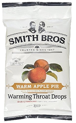Smith Bros. Pack Of 6 Warm Apple Pie Warming Throat Drops 30 Drops=180 Drops (Discontinued by the manufacturer) (Smith Brothers Apple Pie compare prices)