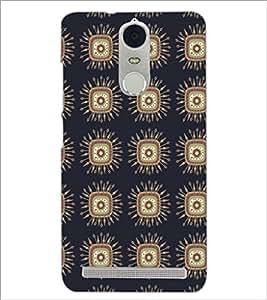 PrintDhaba Pattern D-5227 Back Case Cover for LENOVO K5 NOTE (Multi-Coloured)