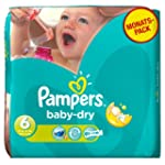 Pampers Windeln Baby Dry Gr.6 Extra L...
