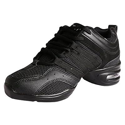 Amurleopard Ladies' Soft Split Sole Jazz Shoes Hip Hop Morden Dance Sneakers