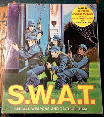 """S.W.A.T. 150 Piece Puzzle 14"""" x 10"""" SWAT TV Show 1975 HG Toys 463-01 - 1"""