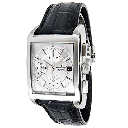 maurice-lacroix-pontos-chrono-pt6187-97-mens-watch-in-stainless-steel-certified-pre-owned