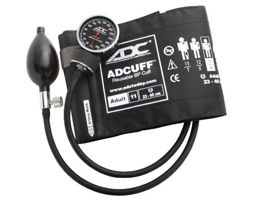American Diagnostic Corporation 720 Manual Blood Pressure Monitor, Black, Adult