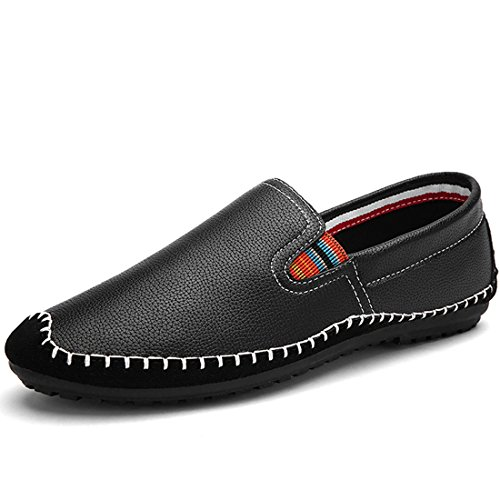 liran-mens-casual-lightweight-handmade-driving-shoes-slip-on-loafer-size-85-us-black