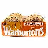 Warburtons Crumpets 6 Pack 150g