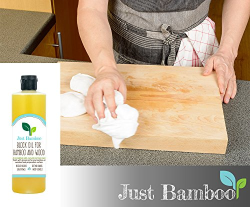 Butcher Block Oil, Cutting Board Oil, High Quality Conditioner, Better Than Pure Mineral Oil, Made for Wood and Bamboo Kitchen Utensils Non Toxic Food Safe Natural Chopping Block Oil with a Lemon Fresh Scent
