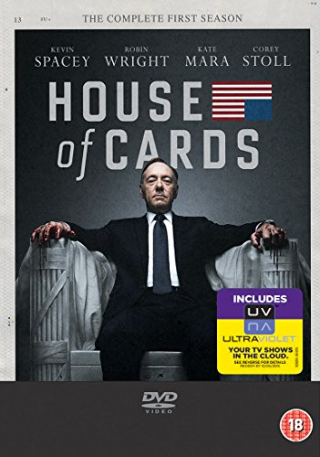 House of Cards Season 1 [4DVD] (English audio)