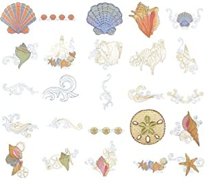 Oesd Embroidery Machine Designs Cd Seaside Treasures by OESD