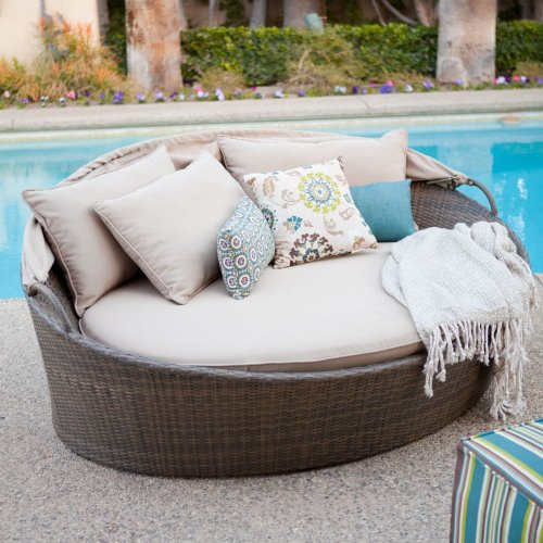 Outdoor Beds With Canopy 841 front