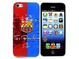 iPhone5 Case アイフォン5専用 サッカーチームエンブレム スペイン リーガエスパニョーラ バルセロナ