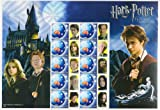 Harry Potter Prisoner of Azkaban Stamp Sheet