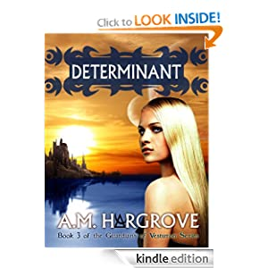 Determinant, a YA Paranormal Romance (Book 3 of The Guardians of Vesturon)