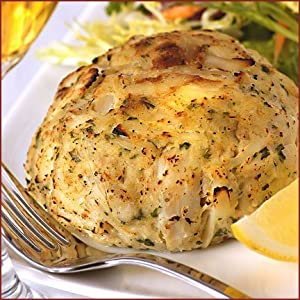 Angelina s CC-8OZ-4-US- 4 8oz Jumbo Lump Maryland Crab Cakes