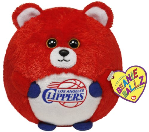Ty Beanie Ballz Los Angeles Clippers - Nba Ballz front-706652