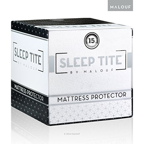 Sleep Tite By Malouf® Hypoallergenic 100% Waterproof Mattress Protector- 15-Year Warranty - Full Xl front-651242