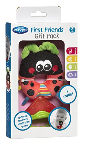 Playgro Baby's First Friends Gift Pack - Pink - 1