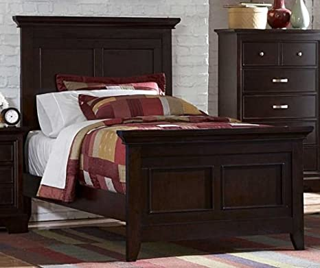 Homelegance Glamour Panel Bed In Espresso