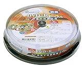 SMARTBUY DVD-R4.7GB1回録画用ワイドプリンタブル1-8倍速スピンドルケース10枚入り抗菌仕様 SMR47-AG8X10PW