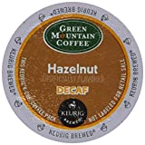 Green Mountain Coffee Hazelnut Decaf K-Cups for Keurig Brewers - 18 K-Cups