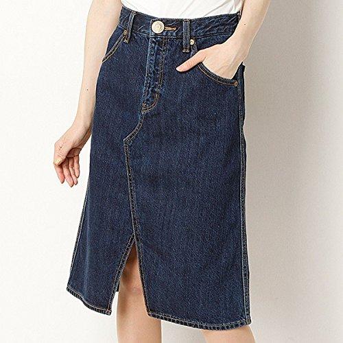 ムルーア(MURUA) スカート(AラインスリットSK)【M50ブルー/0(XS)】