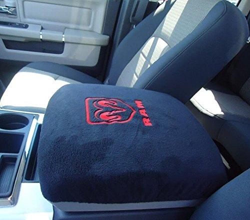 e cowlboy truck center console armrest protector pad cover for dodge ram 1500 2500 3500 4500. Black Bedroom Furniture Sets. Home Design Ideas