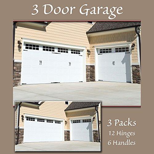 Garage Door Decor: Household Essentials Hinge It Magnetic Decorative Garage