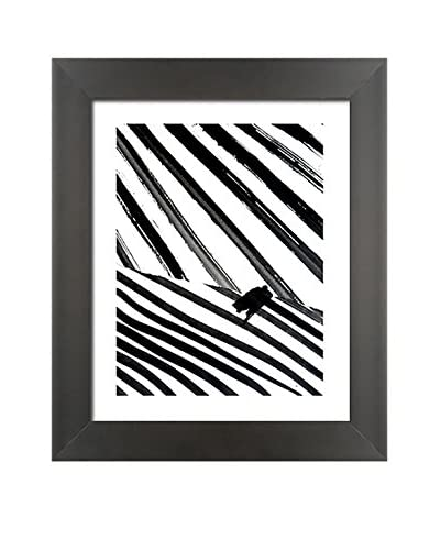 "Laurent Koller ""Kollage 92"" Hand-Painted Framed Original"