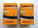 コンチネンタル(Continental) チューブ MTB26 A40 26×1.75-2.5(米式バルブ40mm) 2本セット