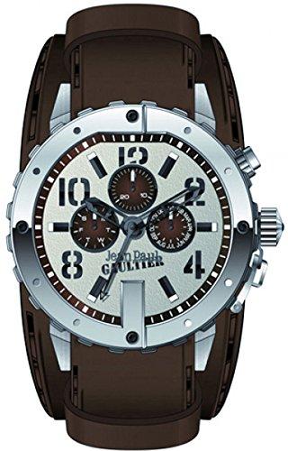 Jean Paul Gaultier Hombre Reloj de pulsera analógico cuarzo acero inoxidable 8500205
