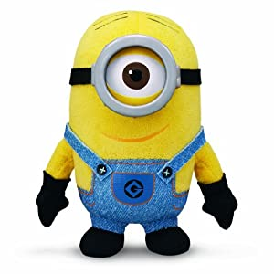 Despicable Me 2 Buddies Soft Huggable Friends Minion Stuart Plush by Thinkway Toys