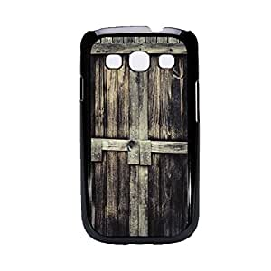 Vibhar printed case back cover for Samsung Galaxy Grand WoodenDoor