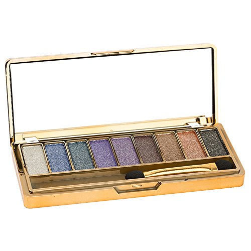 Contever® Pro Make Up Designer 9 Colori Shimmer Palette di ombretti Trucco Tavolozza 004