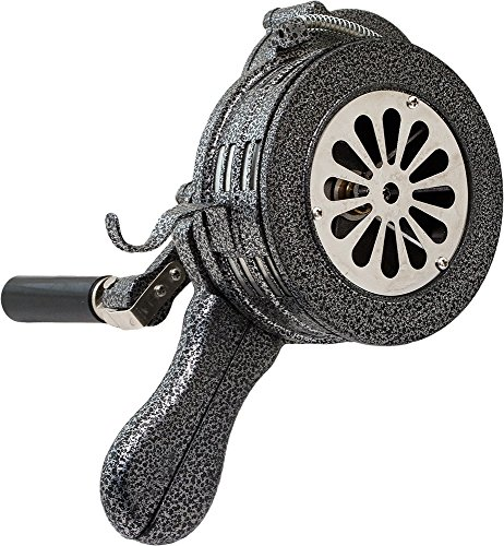 Vixen Horns Loud 115dB Hand Crank Manual Operated Portable Metal Alarm/Siren (Air Raid) VXS-1000M