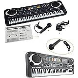 Black 61 Keys Music Electronic Keyboard Kids Piano Organ Gift Electric Charger /Item# G4 W8 B 48 Q51604