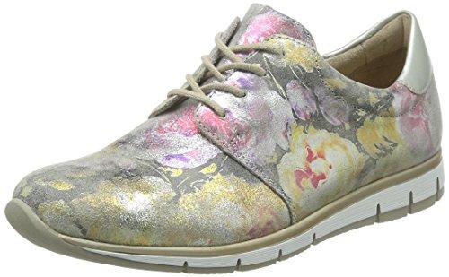 Remonte Dorndorfr4010 - Scarpe stringate Donna , Multicolore (Mehrfarbig (multi/silver / 90)), 42