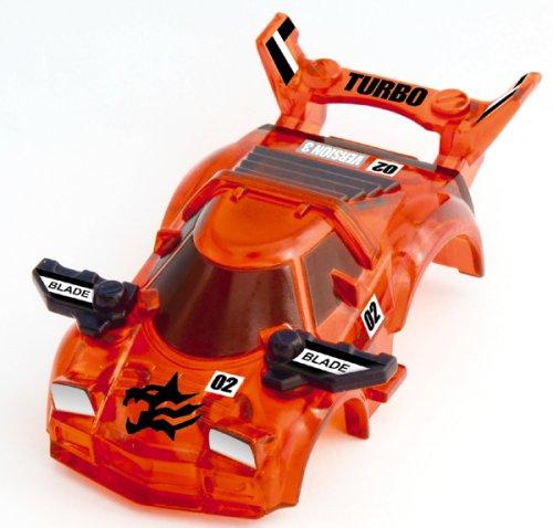 チョロQデッキシステム BB-07 シャイニングタイガー(クリアオレンジ)