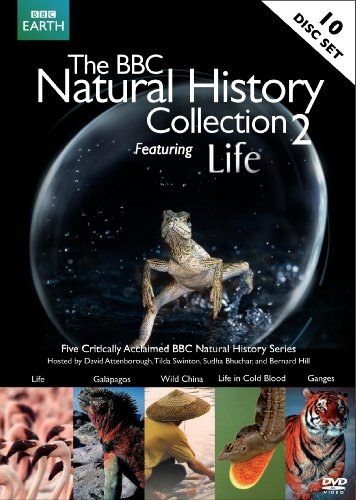 The BBC Natural History Collection 2 (Life / Ganges /  Wild China / Galapagos /  Life in Cold Blood)